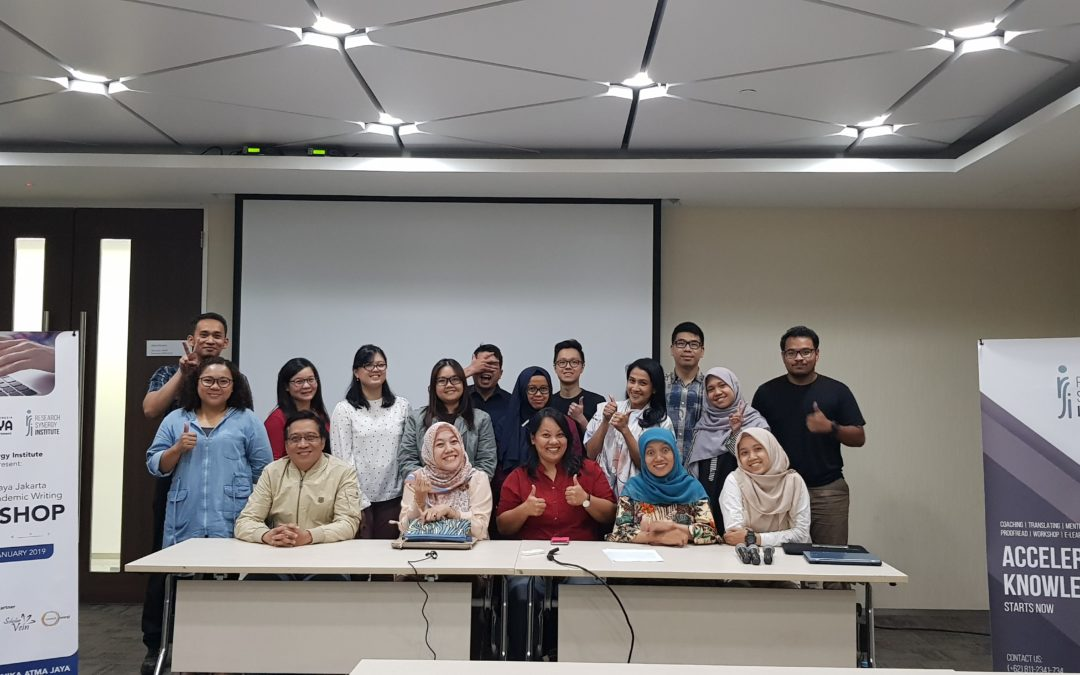 Atma Jaya Academic and Scientific Paper Writing Workshop