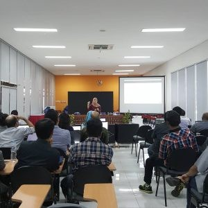 Research Coaching and Academic Writing Clinic part 2 in Faculty of Creative Industry (Telkom University)
