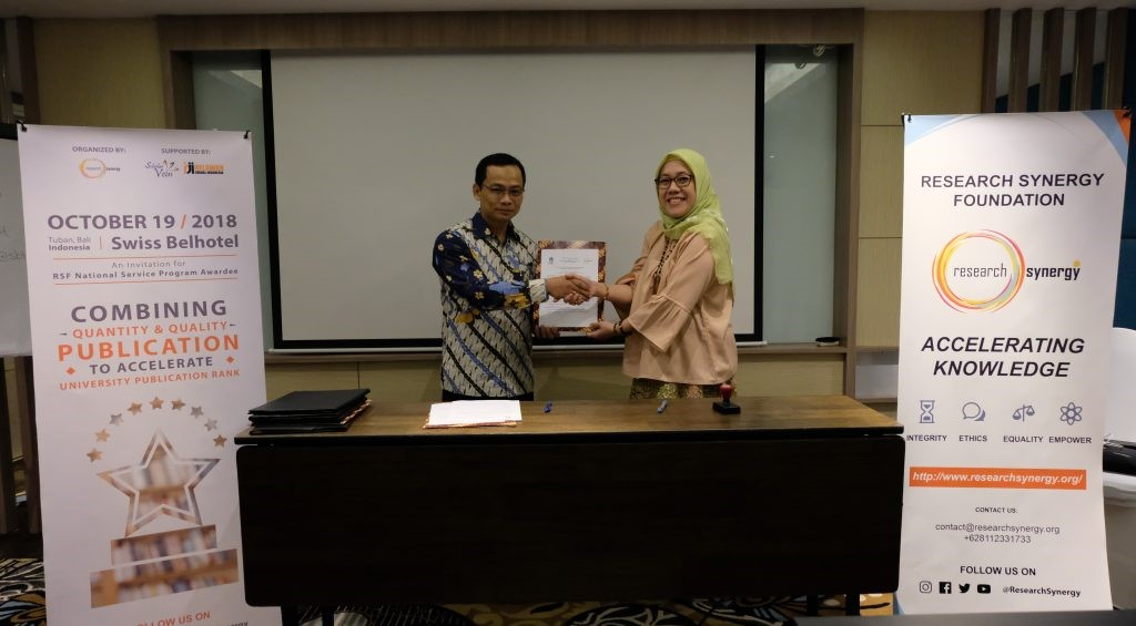 RSF National Service Program Final Announcement & MoU Signing