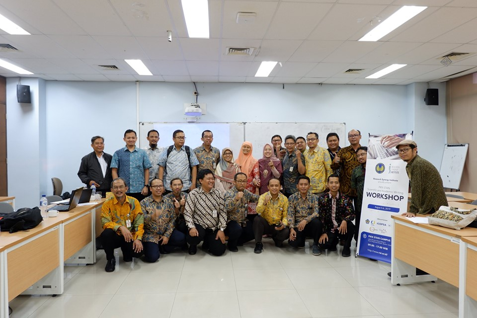 PKN STAN Scientific and Academic Writing Workshop
