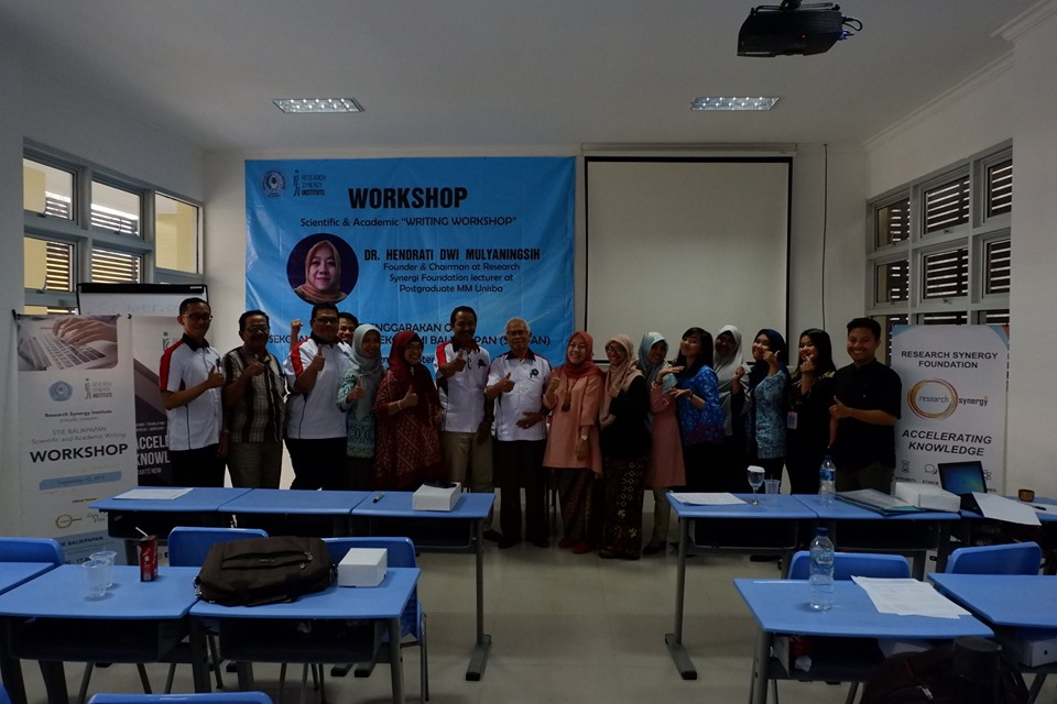 STIE Balikpapan Scientific and Academic Writing Workshop