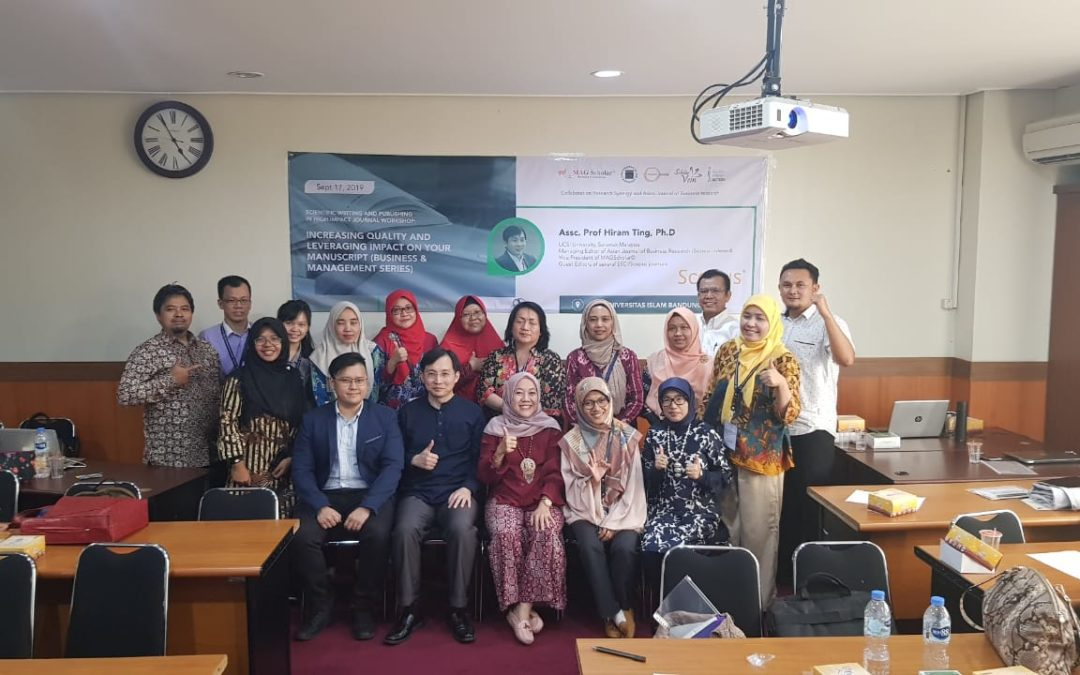 Scientific Writing and Publishing in High Impact Journal Workshop with Dr. Hiram Ting