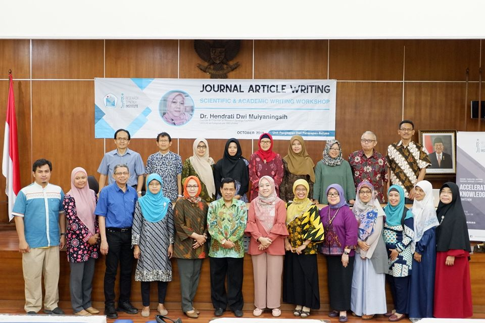 PNJ Scientific & Academic Writing Workshop