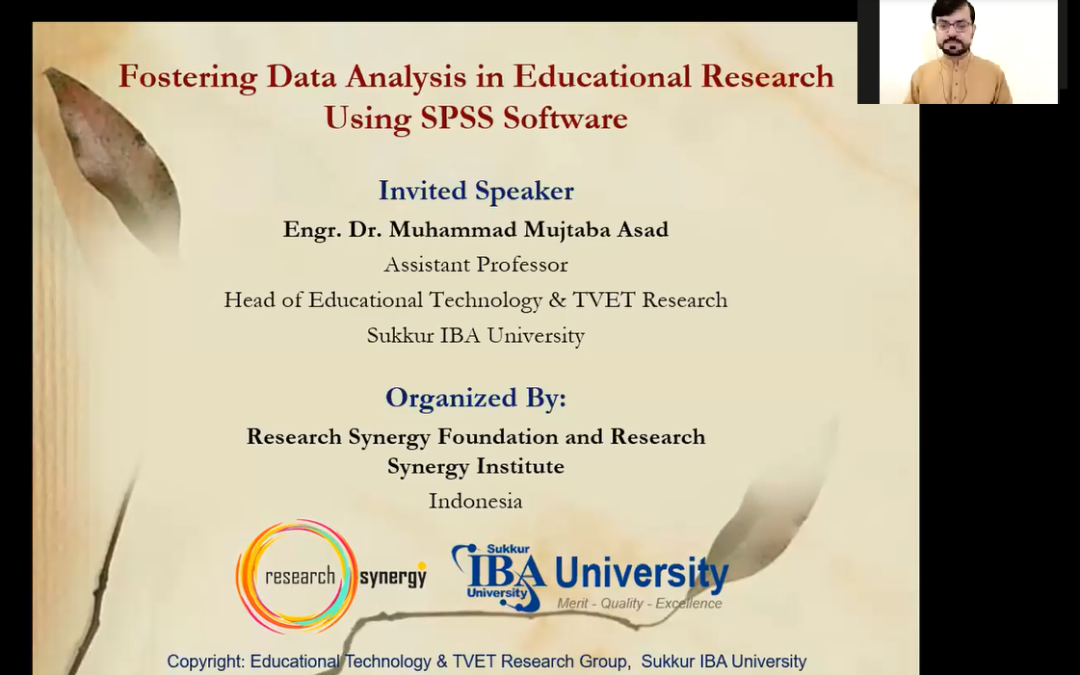 Fostering Data Analysis in Educational Research Using SPSS Software